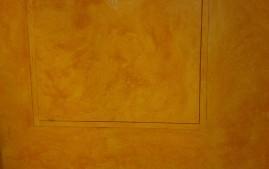 Malování stěny pokoje - detail
