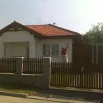Nátěr fasády domu