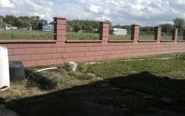 Nátěry obkladů plotu