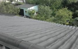 Vyčištěná střecha